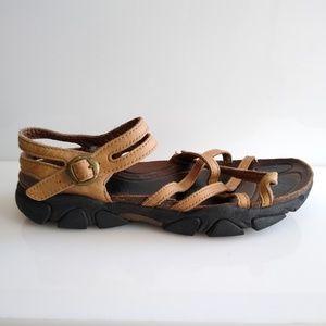 Keen Women's Naples Brown Tan Sandals